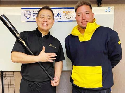 ヤフーニュースで埼玉西武ライオンズの山川穂高選手がラクリスについて話してくれています