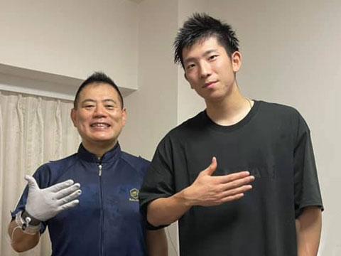 読売ジャイアンツ・戸郷翔征投手にラクリスケア